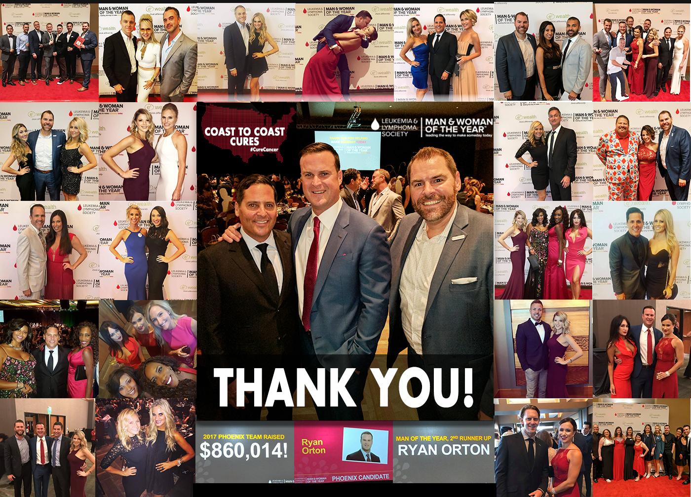 2017 Arizona Man of the Year for the Leukemia & Lymphoma Society
